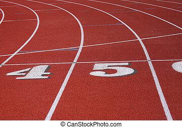 Curving Racetrack