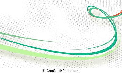 curvy lines loop