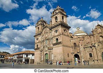 "Cusco Cathedral - The cathadral in ""Plaza de armas"" in the ..."