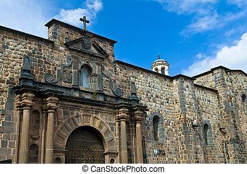 Cusco church of Santo Domingo