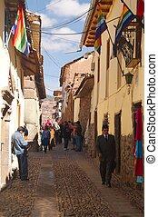 Cusco city street