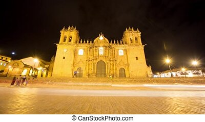 Cusco, Peru Timelapse - City of Cusco 4K Timelapse video...