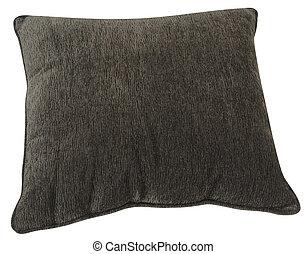 Cushion over white