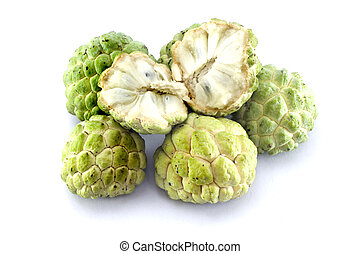 Custard apples thai furit.