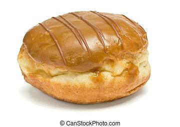 Custard Filled Dougnut - Custard Filled and chocolate...