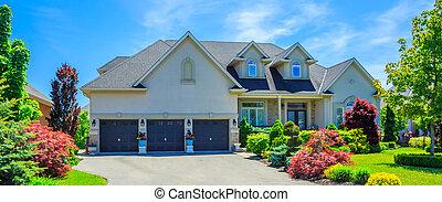 Custom built luxury house in the suburbs of Toronto, Canada....