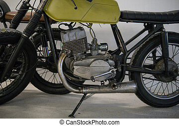custom cafe racer motorcycle