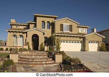 Custom home - Executive home in Northern California