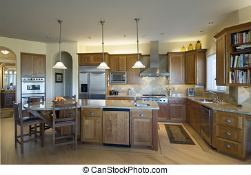 custom kitchen - modern custom kitchen with all the best...