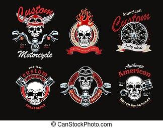 Custom motorbike set