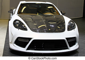 Custom sports car