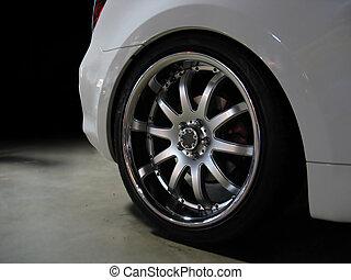 custom wheel detail