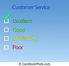 Custome service.