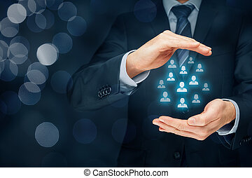 Customer care and manage human resources - Customer care, ...