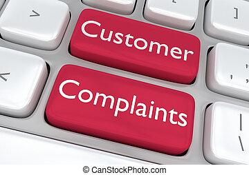 Customer Complaints concept - Render illustration of ...