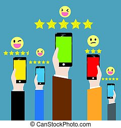 Customer feedback through the online channel