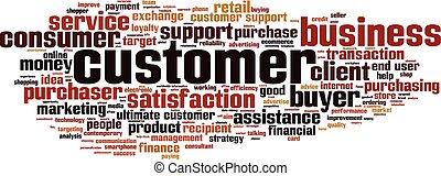 Customer-horizon word cloud
