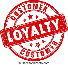 Customer loyalty business stamp