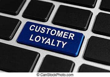customer loyalty button on keyboard
