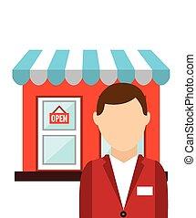 customer man