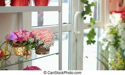 Customer Purchasing Flower