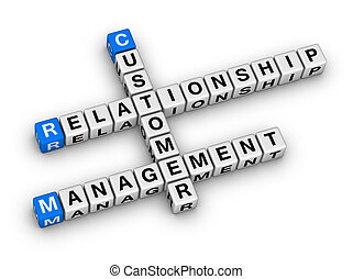 customer relationship management (CRM) crossword puzzle