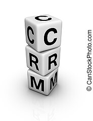 customer relationship management (CRM) symbol