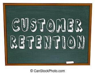 Customer Retention Words Dartboard Tips Advice Keeping Business