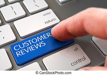 Customer Reviews - Aluminum Keyboard Concept. 3d.
