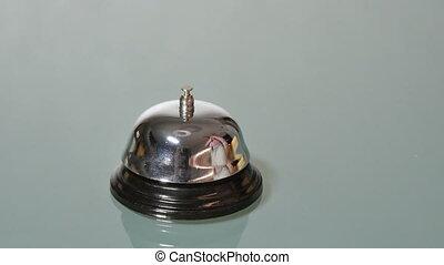 Customer Ringing Bell Front Desk