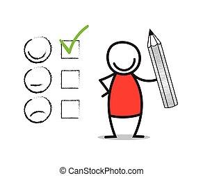 Customer Satisfaction - Customer satisfaction concept....