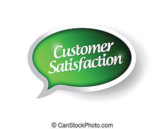customer satisfaction message