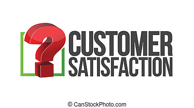 customer satisfaction question mark unknown