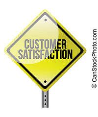 customer satisfaction road