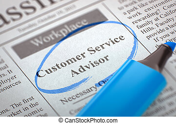 Customer Service Advisor Join Our Team.