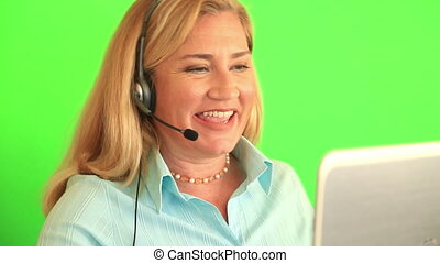 Customer service and call centre operator