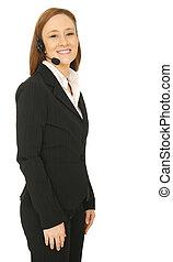 Customer Service Smiling
