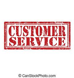Customer Service-stamp