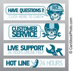 Customer service support