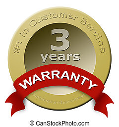 Customer service warranty seal