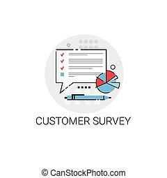 Customer Survey Service Appreciate Icon
