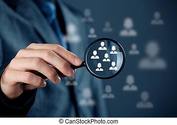 Customer target audience - Marketing customer target...
