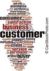 Customer-vertical word cloud
