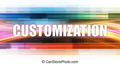 Customization Corporate Concept Exciting Presentation Slide Art