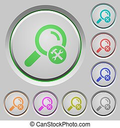 Customize search push buttons