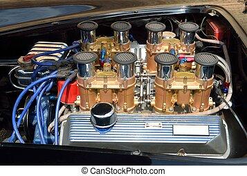 Customized Car Engine
