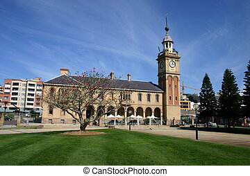 Customs House - Newcastle Australia. A historic landmark,