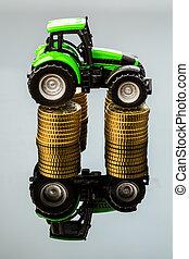 custos ascendentes, em, agricultura