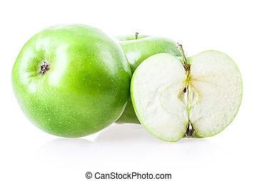 cut apple
