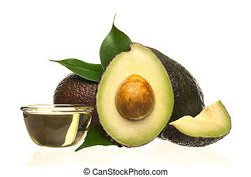 Cut avocado.